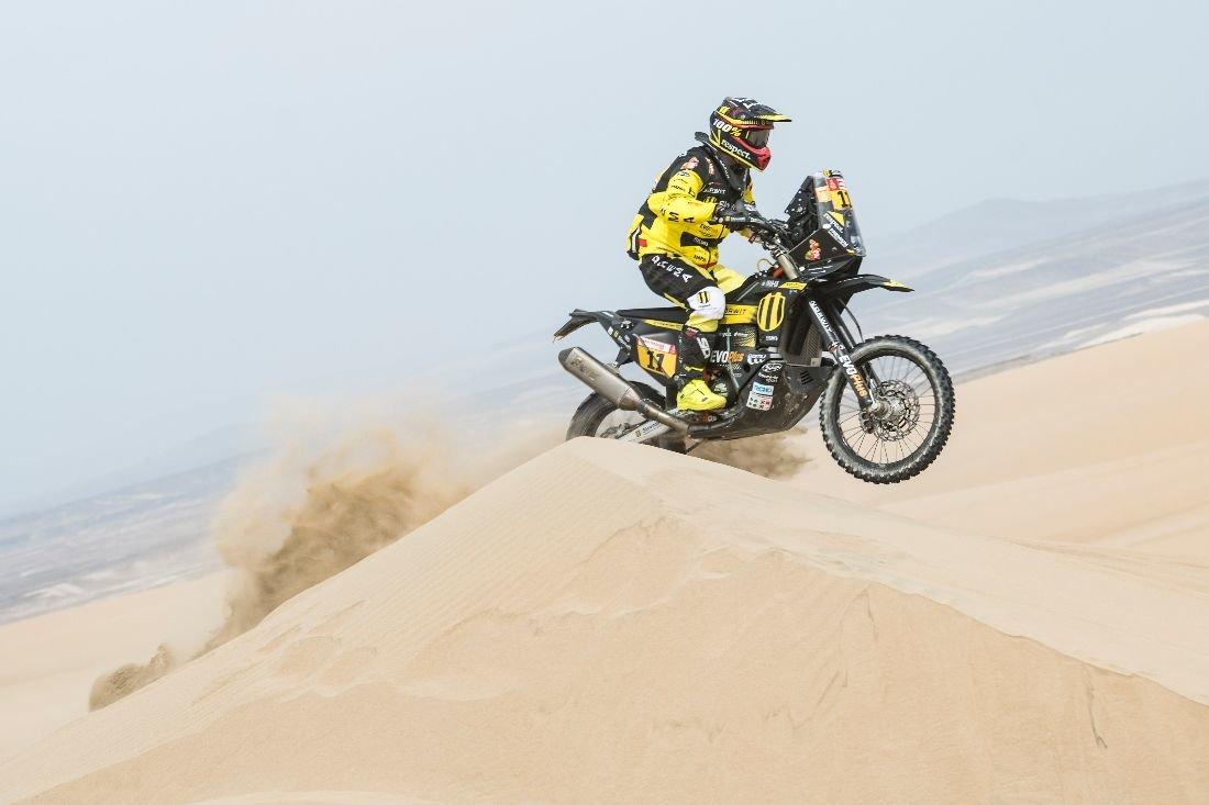Štefan Svitko - Dakar 2019 - 2. etapa - Pisco - San Juan de Marcona