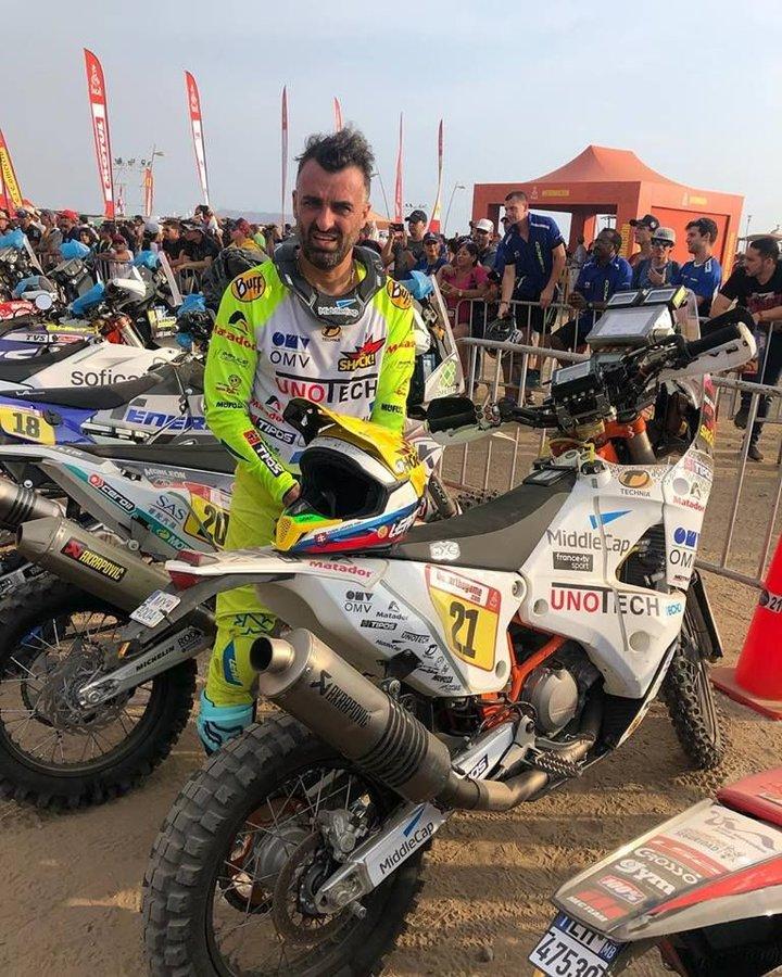 Ivan Jakeš - Pódium - Dakar 2019