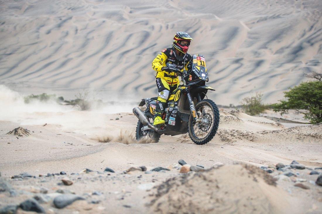 Štefan Svitko - Dakar 2019 -  3 etapa - San Juan de Marcona - Arequipa