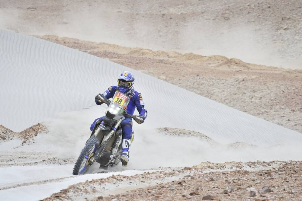 Xavier de Soultriat - 4. etapa - Dakar 2019