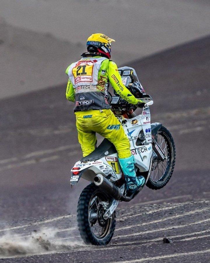 Ivan Jakeš- 4. etapa - Dakar 2019