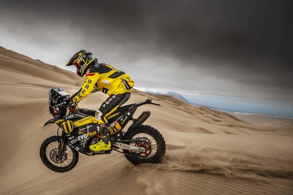 Štefan Svitko - Dakar 2019 - 6. etapa