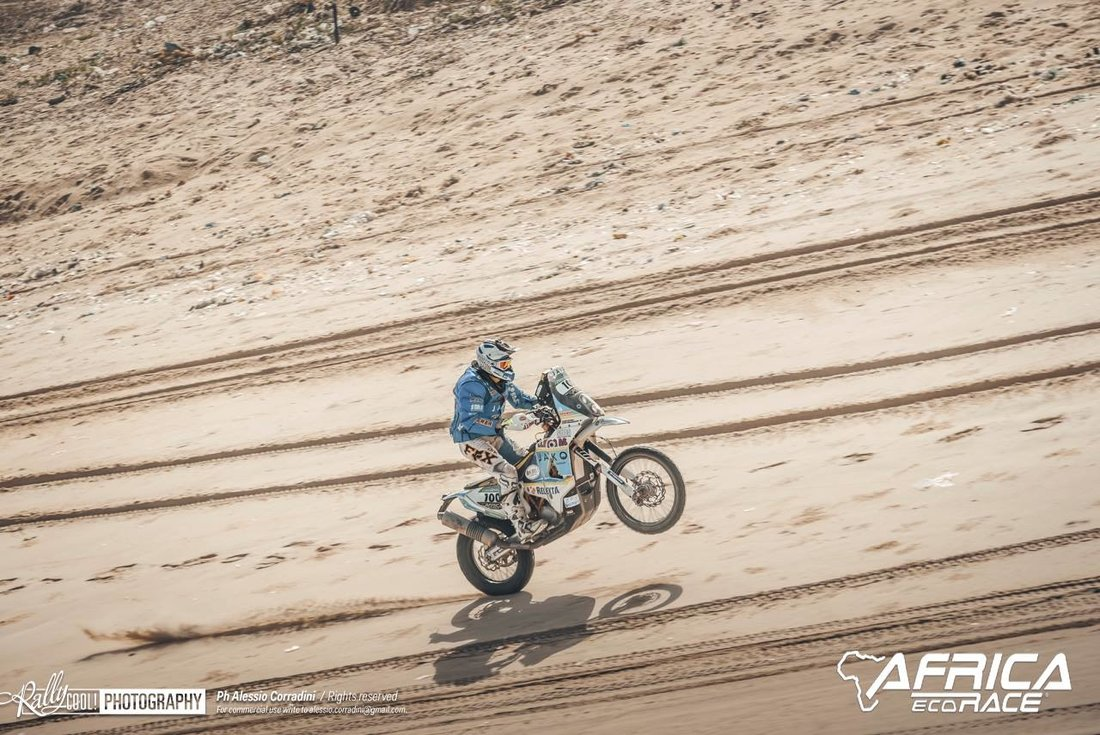 12 etapa - Africa Eco Race 2019 – Maťo Benko naživo
