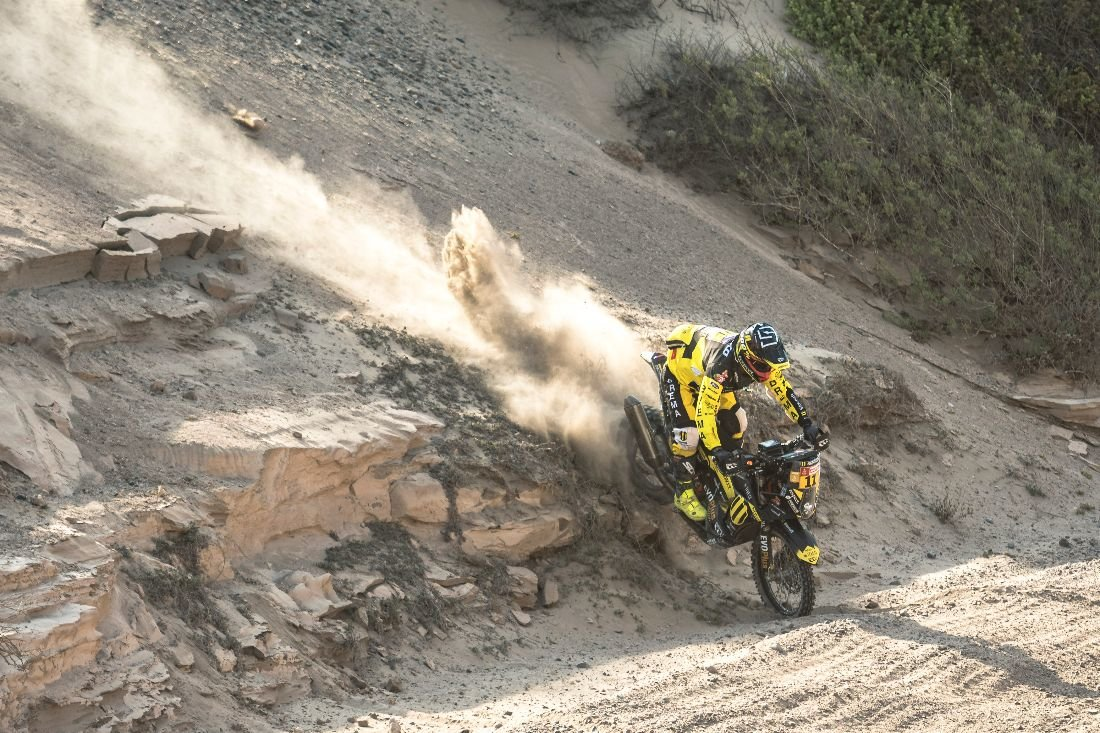 Štefan Svitko - Dakar 2019 - 7. etapa
