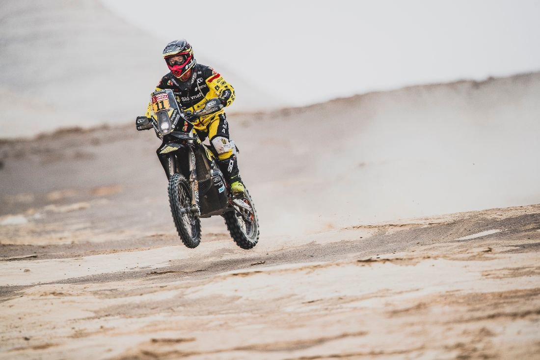 Štefan Svitko - Dakar 2019 - 8. etapa