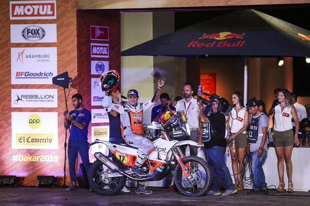 Laia Sanz - Dakar 2019 - 10. etapa - Price víťazom etapy i Dakaru, 18. triumf pre KTM - Pisco - Lima
