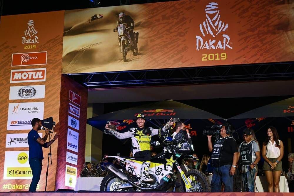 Andrew Short  - Dakar 2019 - 10. etapa - Price víťazom etapy i Dakaru, 18. triumf pre KTM - Pisco - Lima