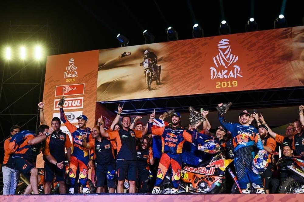 KTM - Dakar 2019 - 10. etapa - Price víťazom etapy i Dakaru, 18. triumf pre KTM - Pisco - Lima