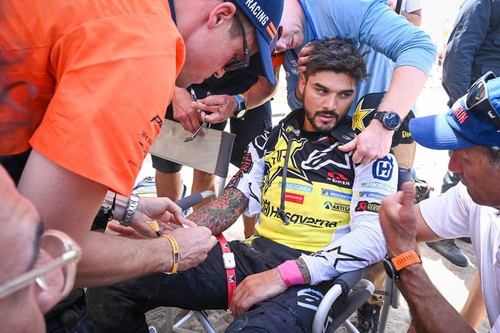Pablo Quintanilla v cieli - Dakar 2019 - 10. etapa - Price víťazom etapy i Dakaru, 18. triumf pre KTM - Pisco - Lima
