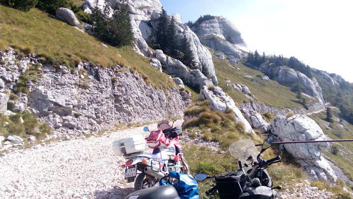pod vrcholom Hora Plješevica