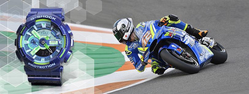 Suzuki Slovensko venuje výhercovi hodinky MotoGP G-Shock Casio v hodnote 173,21 €