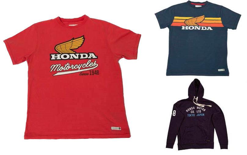 Honda Motor Europe Ltd. Slovensko venuje tričká a mikinu