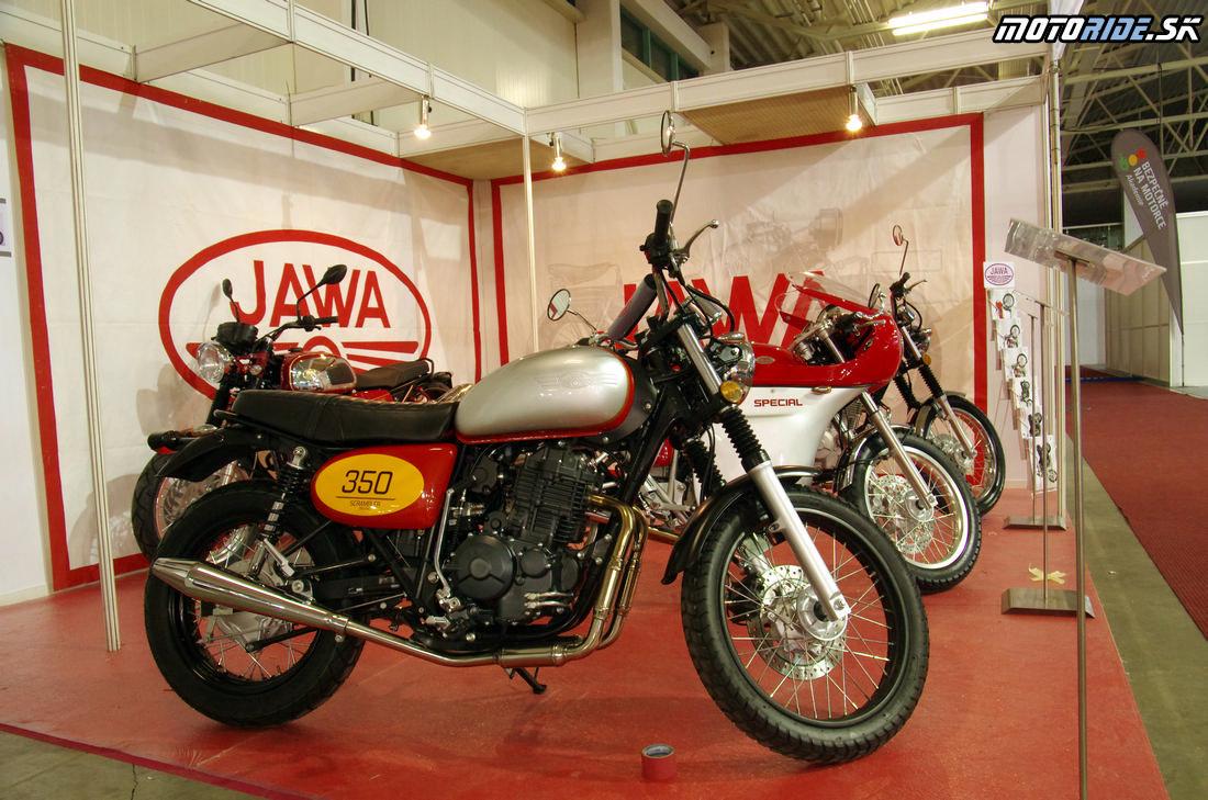 Jawa 350 Scrambler - Prvý fotoreport z výstavy Motocykel 2019
