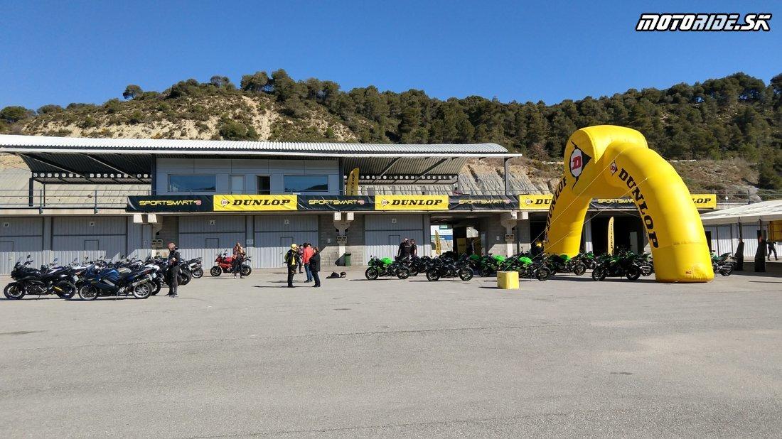 Okruh Parkmotor Castellolí - Testujeme nové pneumatiky Dunlop Sportsmart Mk3