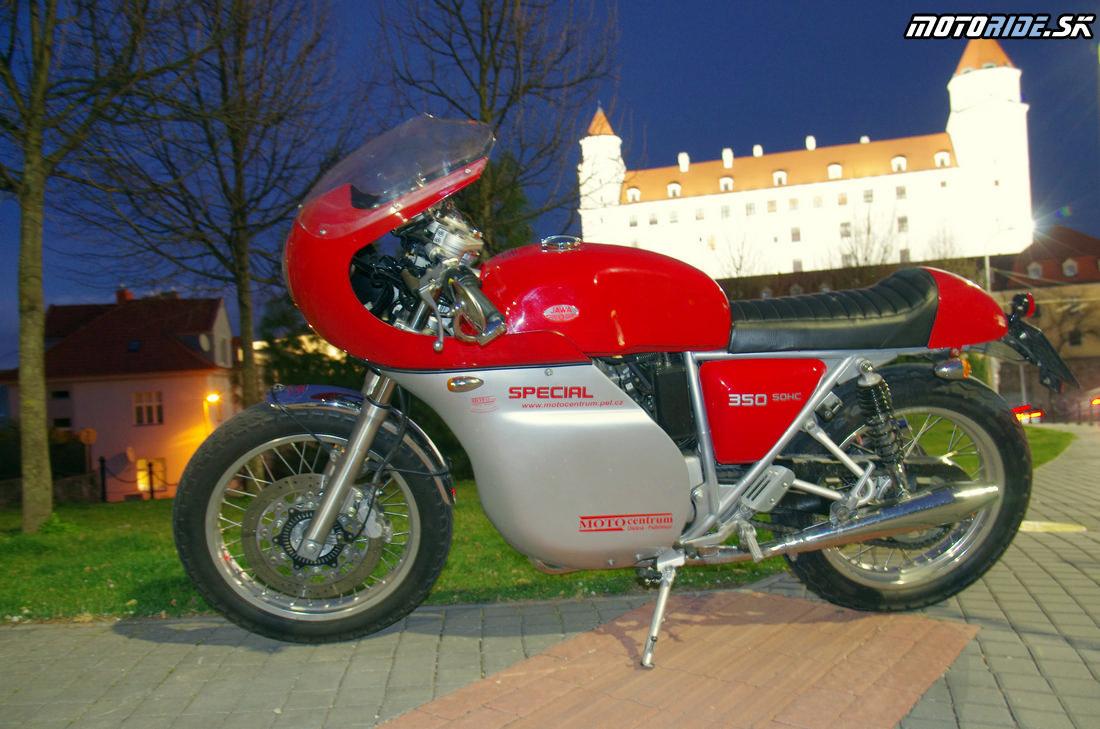 Jawa 350 Special - dobre vyzerajúci retro športovec