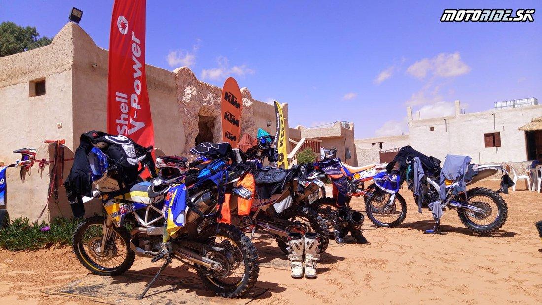 To the dunes and back II - tréning na sahare je šťastne za nami