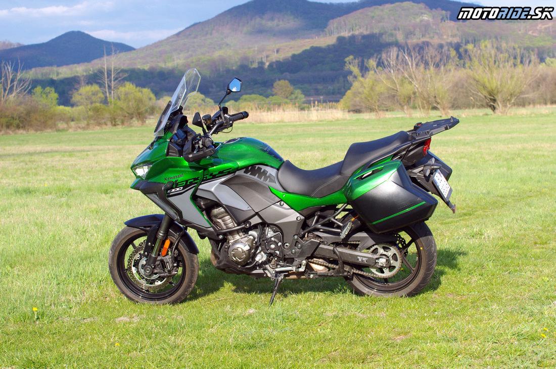Kawasaki Versys 1000 SE 2019 - nadupaný hyper turista