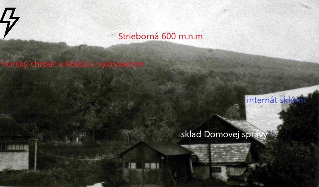 Huta - podobne pohľad na Kokúš a veľkú Striebornú