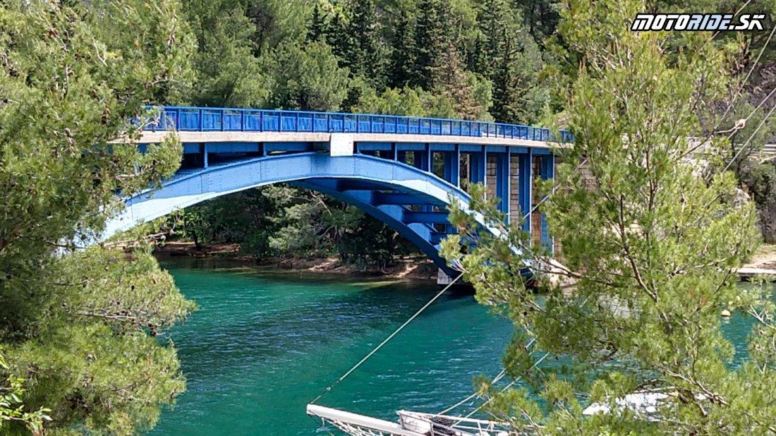 Most Skadrin - Testujeme KTM 790 Adventure a Adventure R 2019 v Chorvátsku