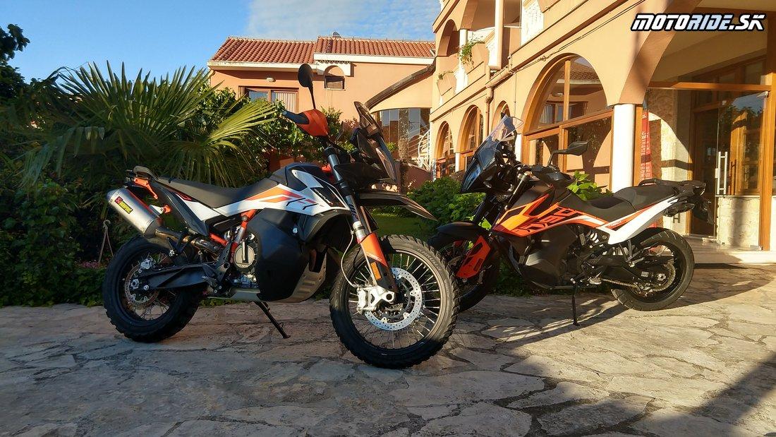 Testujeme KTM 790 Adventure a Adventure R 2019 v Chorvátsku