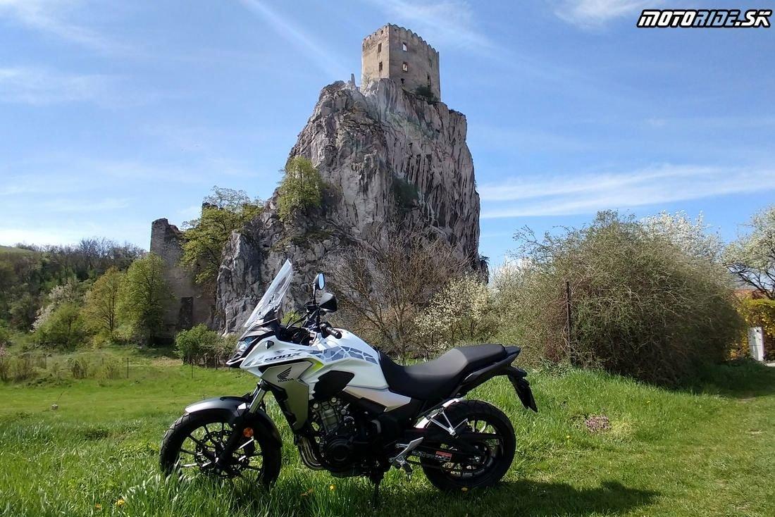 Beckov - Honda CB500X  2019 – inovovaný dobrodruh
