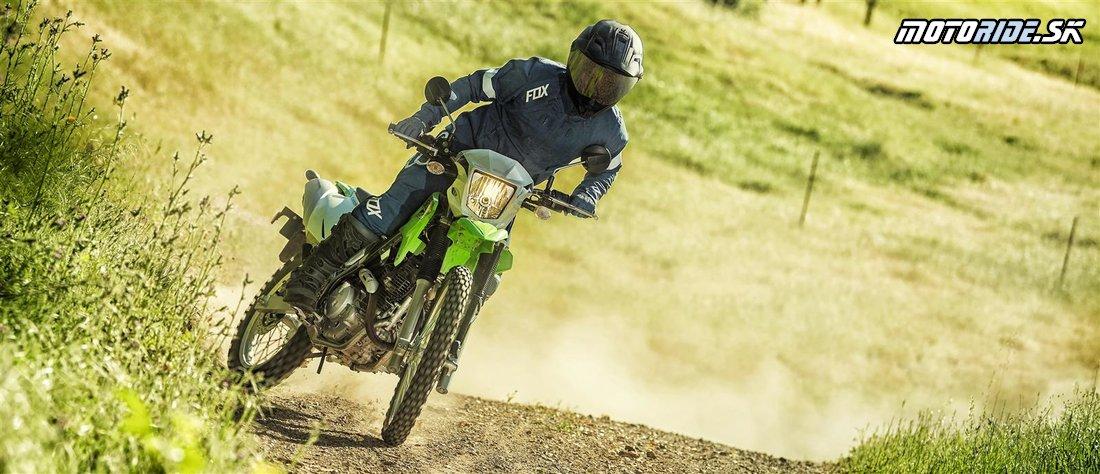 Nová Kawasaki KLX230 2020