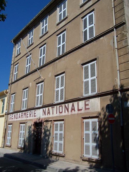 Žandárska stanica v St. Tropez