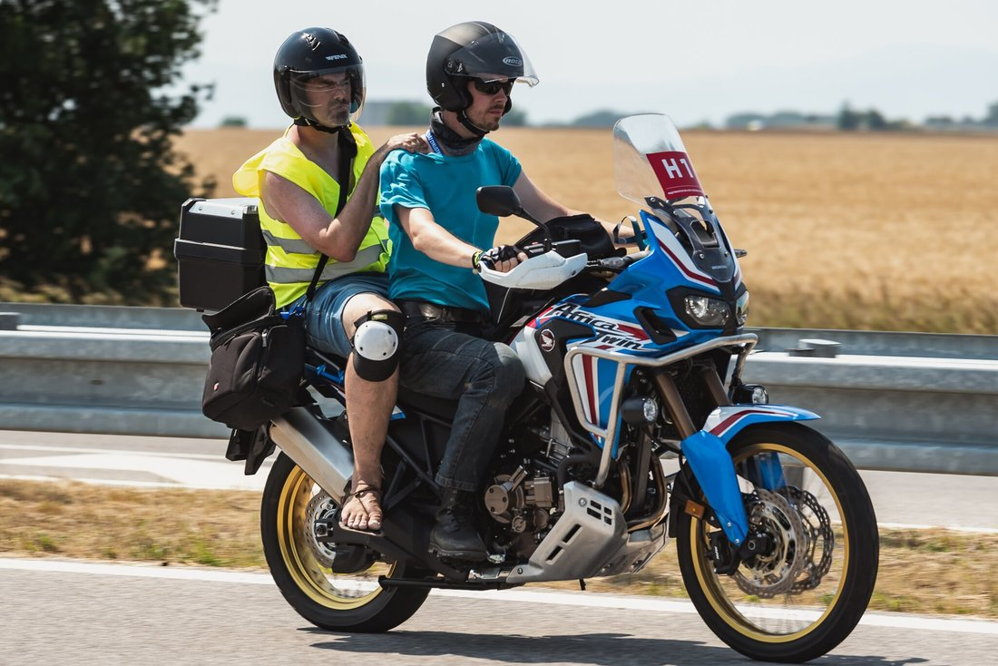 Motorky v sprievode majstrovstiev Česko-Slovenska s Petrom Saganom