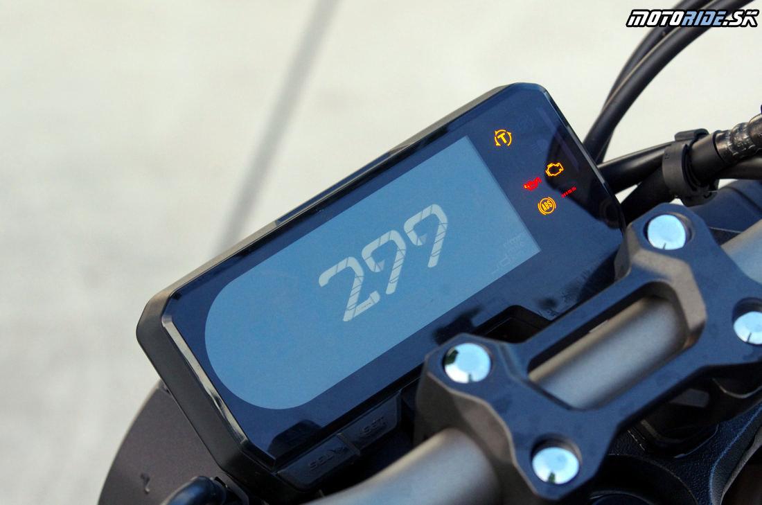Inverzná prístrojovka - Honda CB650R 2019 - Neo Sport kafáč strednej triedy