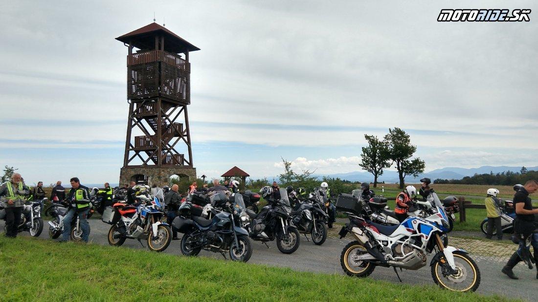 Rozhľadňa Pohoř - Olšová - 16. stretnutie motorideákov 2019 na Morave