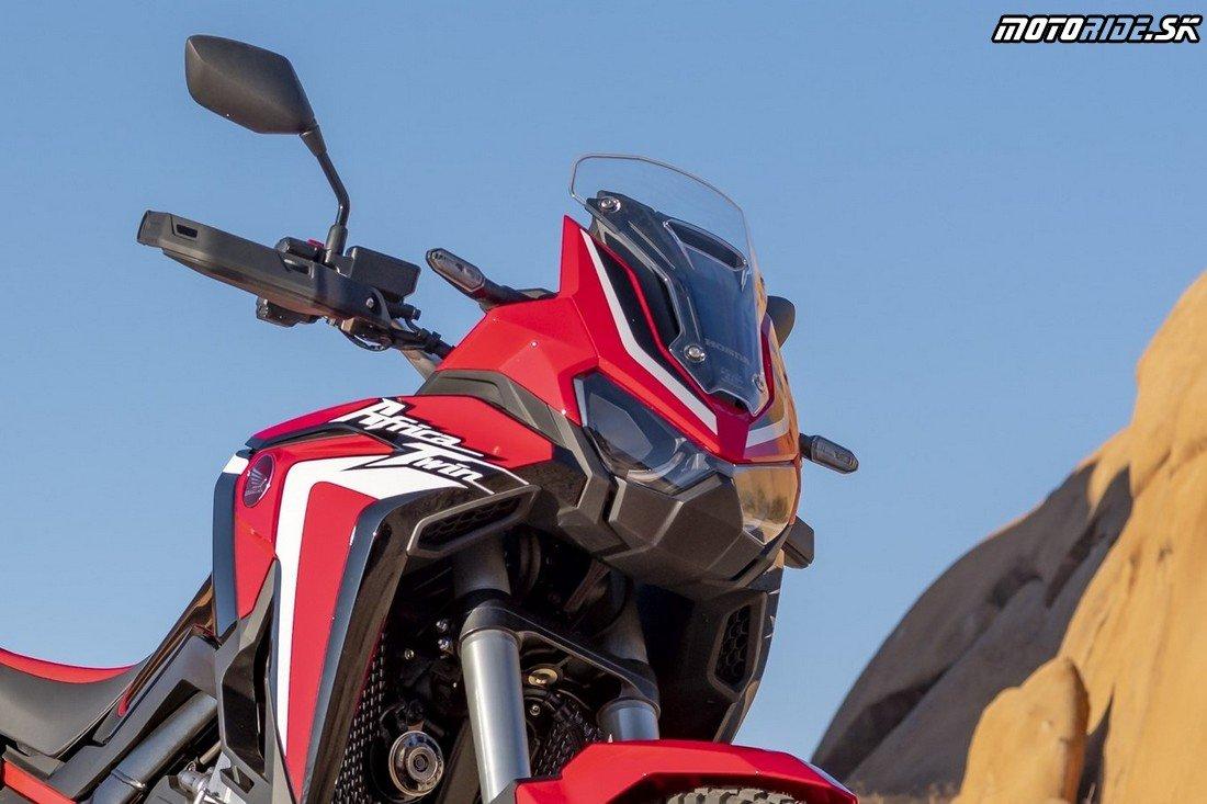 Nízke plexi - Honda CRF1100L Africa Twin 2020