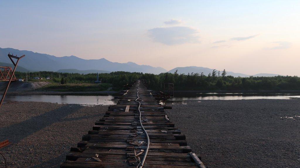 Vitimský most, Rusko - Bod záujmu