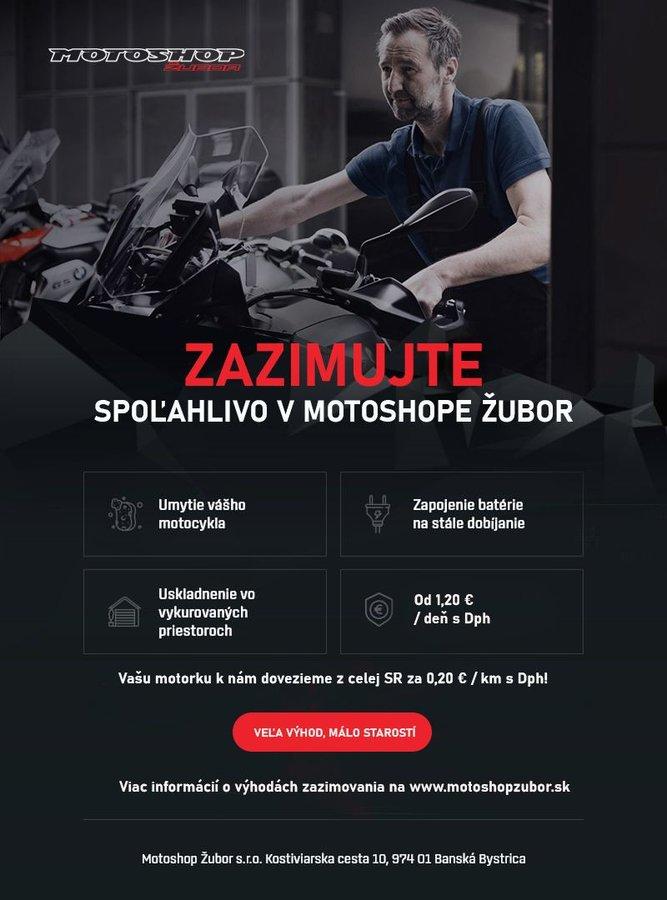 Zazimujte si motorku u nás v Motoshope Žubor - www.motoshopzubor.sk