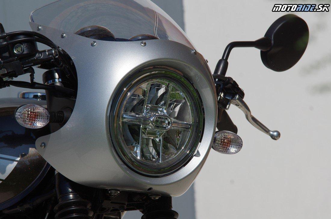 Kawasaki W800 Café 2019 – skutočný retro bike anglickej školy
