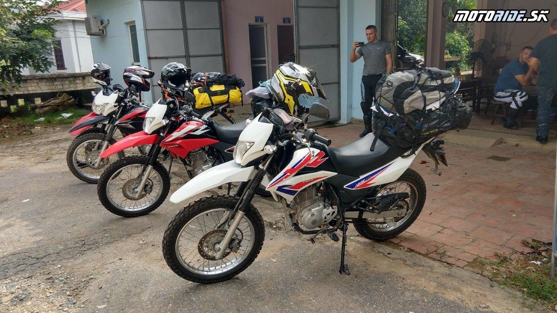 Presúvame sa na sever - Naživo: Vietnam moto trip 2019