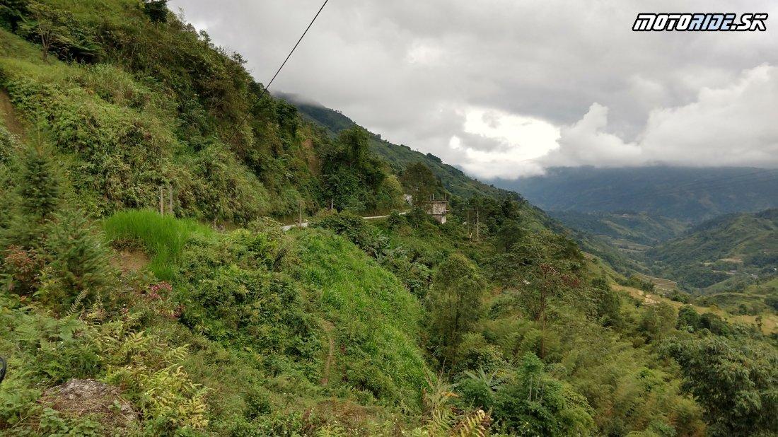 Horská cesta do Ha Giang - Naživo: Vietnam moto trip 2019