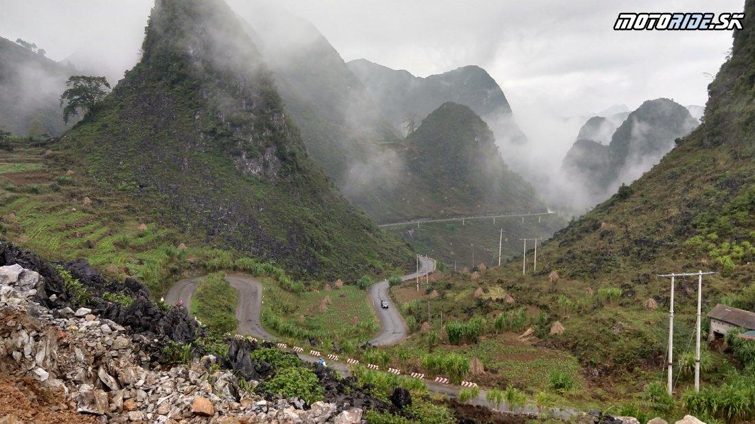 Ma Pi Leng Pass - Horská cesta do Mao Lac - Naživo: Vietnam moto trip 2019