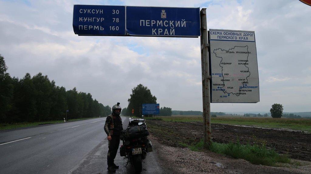 Ráno cestou do Iževsku