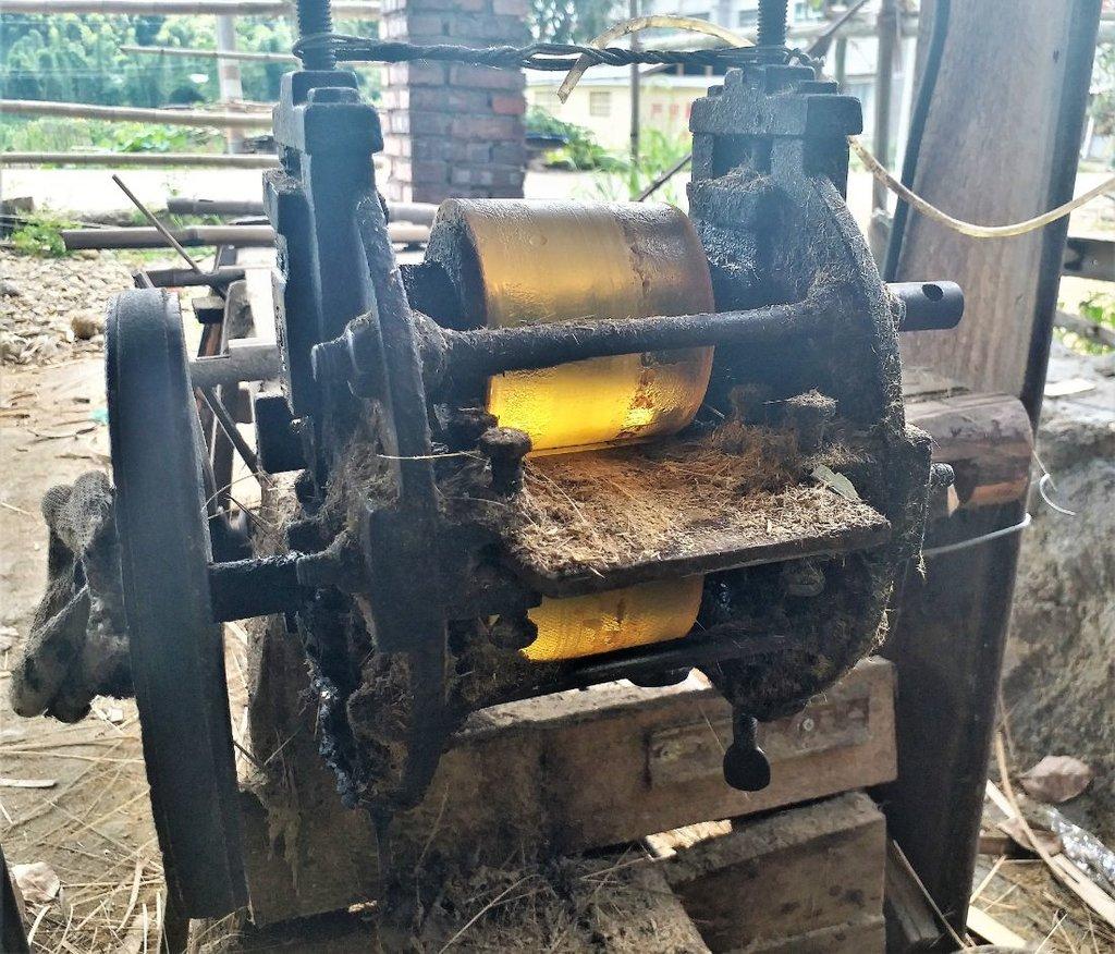 Fabrika na babusové rohože