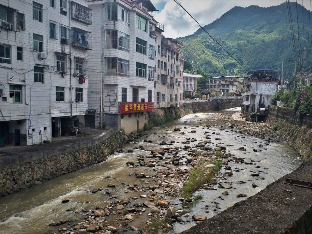 Mesto rieka hory