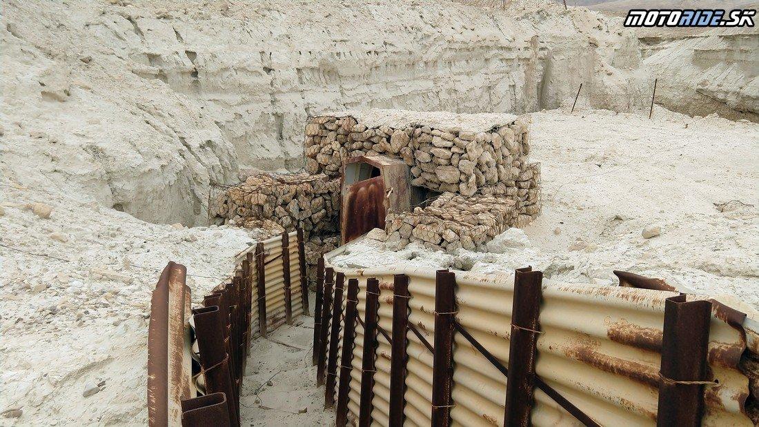 Bunkre pri Mŕtvom mori - Bod záujmu