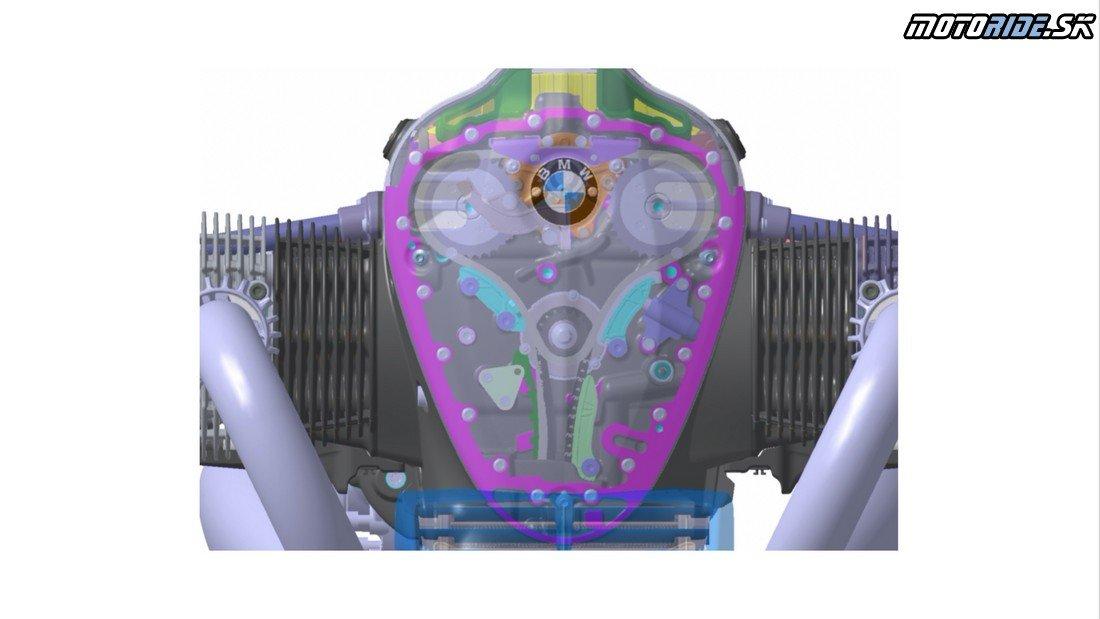 BMW predstavilo nový 1800 kubíkový boxer motor