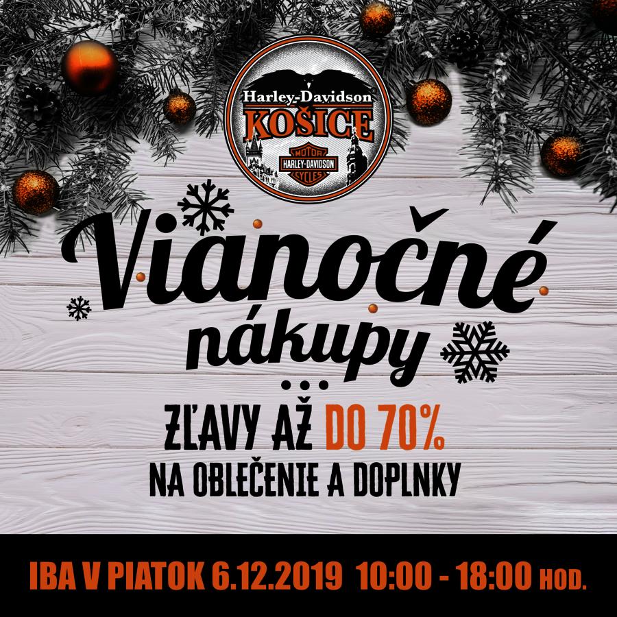 Vianočné nákupy v Harley-Davidson Košice