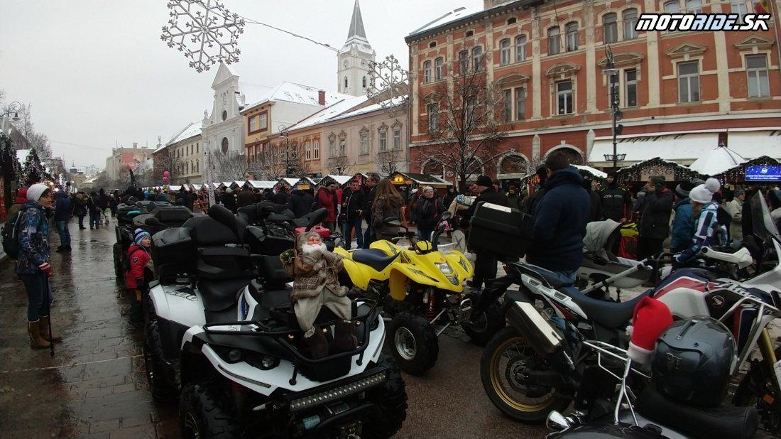 Parádna biela Mikulášska jazda 2019 - Košice
