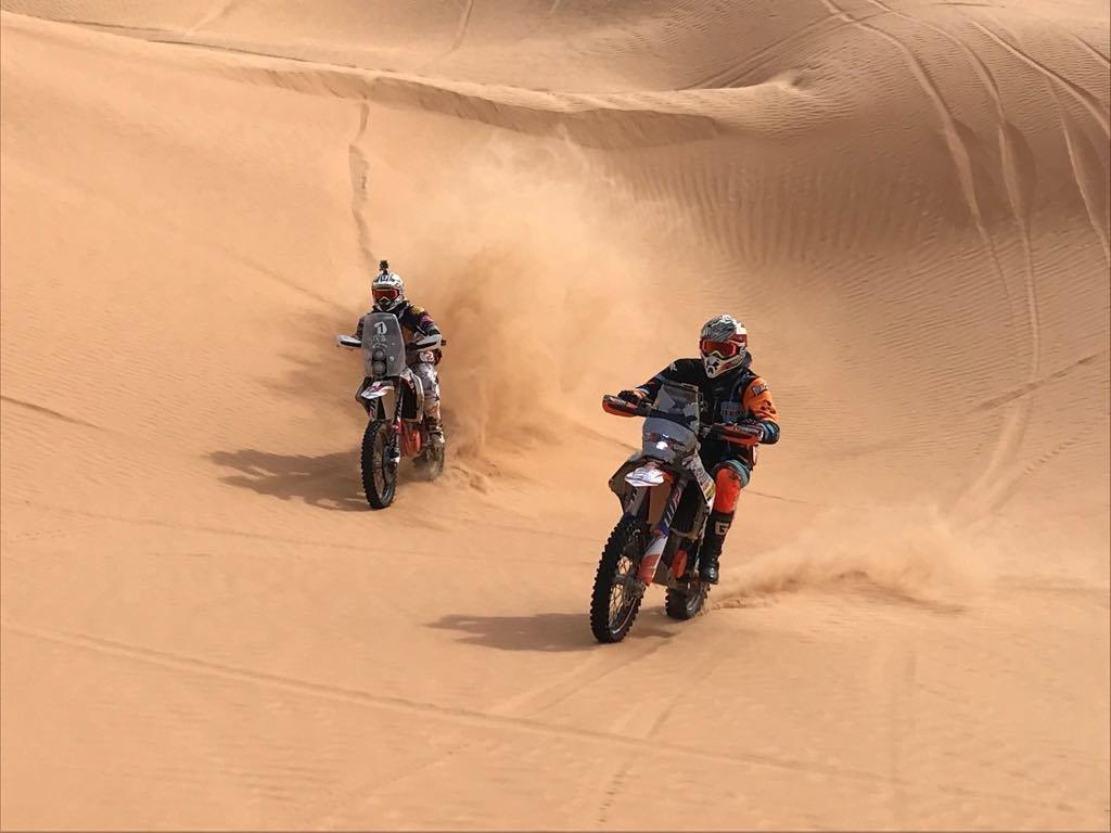 To the Dunes and back III - dunový hrebeň za Camp Zmela