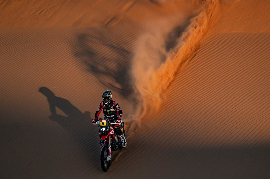 Ricky Brabec and Honda claim the final victory at the 2020 Dakar