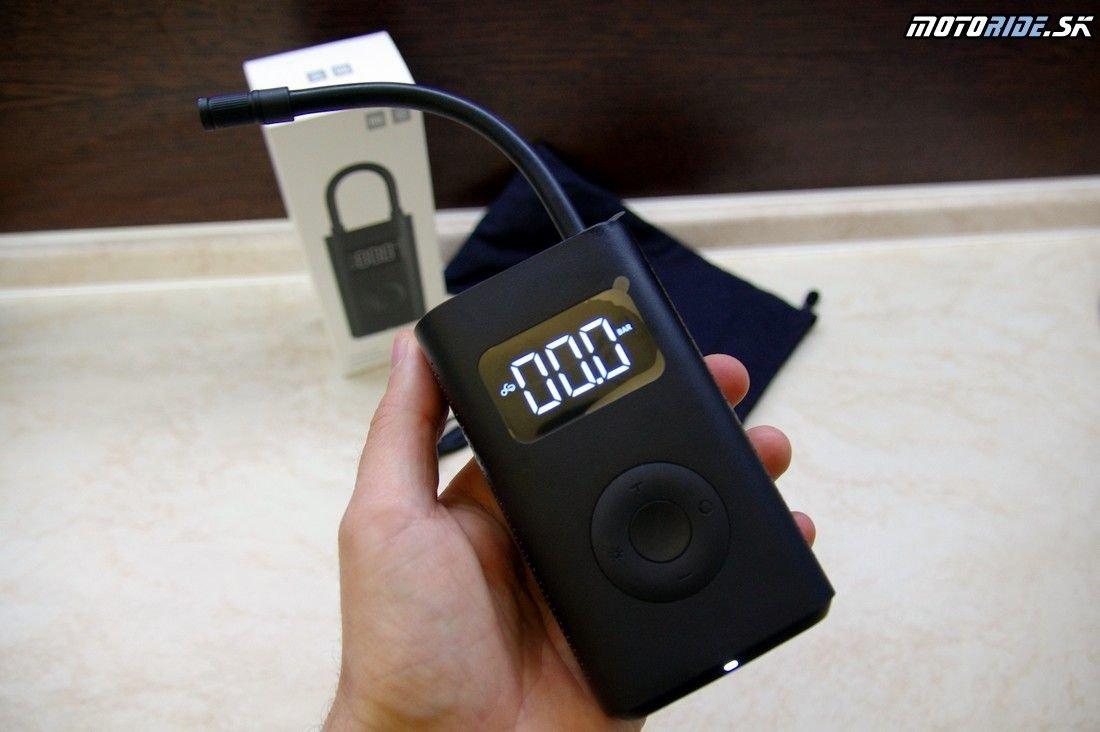 Xiaomi Mi Portable Air Pump - prenosný kompresor nielen pre motorkárov