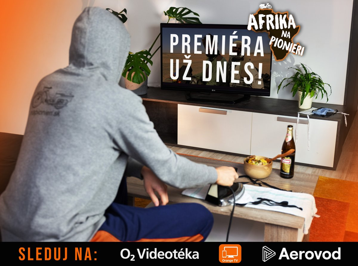 Afrika na Pionieri je odteraz online