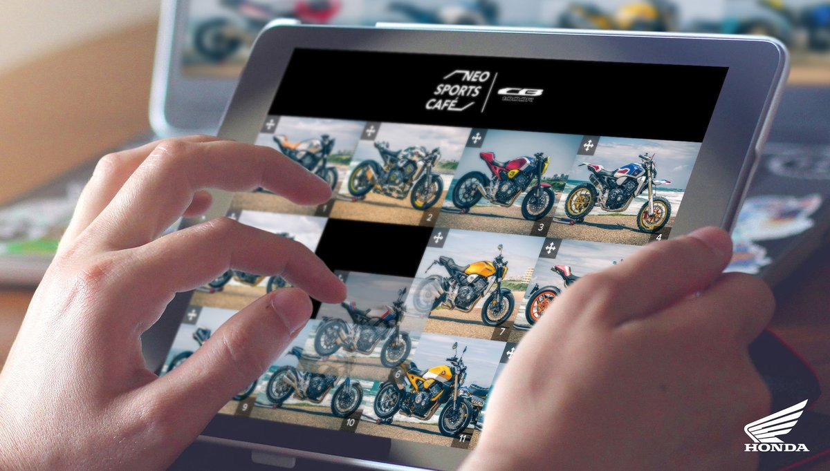 Ohodnoťte on-line dvanásť najlepších európskych custom úprav modelu CB1000R
