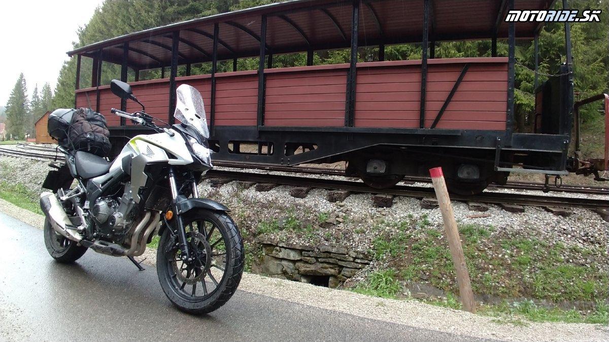Oravské dobrodružstvo a Najsevernejšia obec SR - Krížom-krážom po Slovensku na CB500X